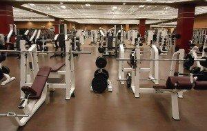 Fitness Studio Hantelbank